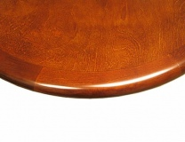 Wood Edge Table top Finish