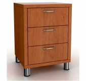 200 Series Bedside Table - with 3 Drawers